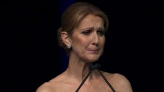 Celine Dion Breaks Down During Emotional Memorial for Husband René Angélil