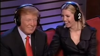 Donald Trump Laughs When Called a Sexual Predator on 'The Howard Stern Show' and Daughter Ivanka Finds It Funny Too