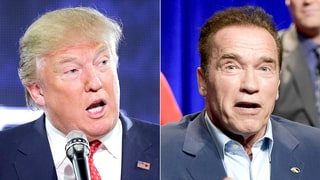 Arnold Schwarzenegger Responds to Donald Trump's 'Celebrity Apprentice' Ratings Diss