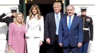 Melania Trump Makes First Official White House Appearance Since Inauguration to Welcome Israeli Prime Minister