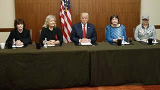 Trump Holds Surprise Pre-Debate Event With Bill Clinton Accusers