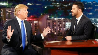 Jimmy Kimmel Takes on Donald Trump, Says His Views Are