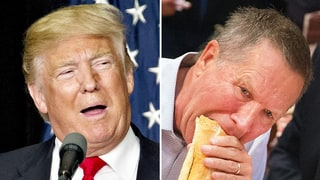 Donald Trump Is Disgusted With John Kasich's Eating Habits: 'Do You Want That for Your President?'