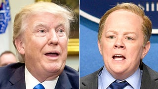 Donald Trump Is Upset That Sean Spicer Was Spoofed by a Woman on 'Saturday Night Live': Report