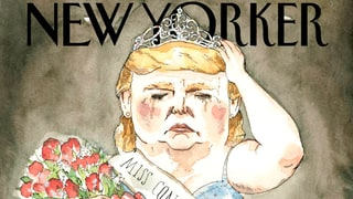 Donald Trump Imagined as a Curvy Pageant Queen on The New Yorker's New Cover