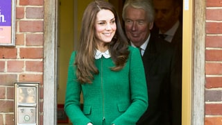 Duchess Kate Puts a Bright Twist on the Classic Skirt Suit, Bonds With Families on Visit to Children's Hospice