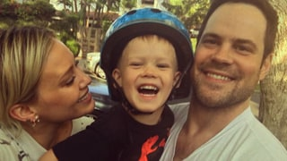 Hilary Duff, Mike Comrie Reunite to Celebrate Son Luca's Birthday