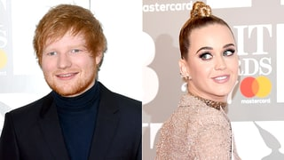 Ed Sheeran Crashes Katy Perry's Interview and They Instantly Become BFFs