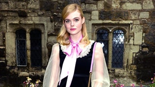 Elle Fanning: Gucci Cruise 2017
