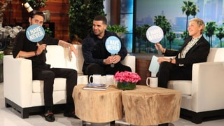 Jared Leto, Drake Play 'Never Have I Ever' on 'Ellen': Watch!