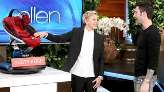 Adam Levine: Ellen DeGeneres Basically Named His and Behati Prinsloo's Daughter Dusty Rose