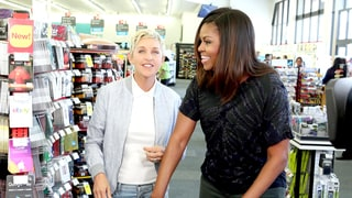 Ellen DeGeneres Causes a Scene on CVS Shopping Trip With Michelle Obama for Her Show