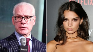 Emily Ratajkowski Defends Her Dress After Tim Gunn Calls It 'Appallingly Vulgar'