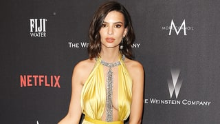 Emily Ratajkowski Suffers Wardrobe Malfunction, Flashes Underwear at Golden Globes Afterparty