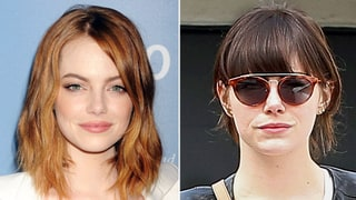 Emma Stone's Brunette Hair May Be the First Step to Becoming Cruella: Come See!