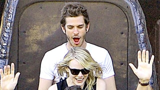 Andrew Garfield Ate Pot Brownies With Emma Stone at Disneyland