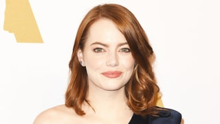Oscar Nominee Emma Stone's Red Carpet Style Inspired This Elegant, Dramatic Bridal Gown