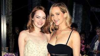 Emma Stone Hits the Red Carpet With Jennifer Lawrence as Her Date