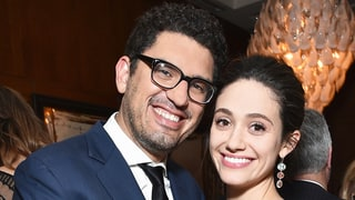 Emmy Rossum Reacts to Rumors of a Secret Wedding With Sam Esmail