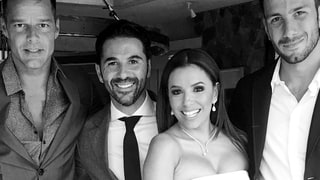 Eva Longoria Is 'Still Floating' After Romantic Wedding: See Her Dress