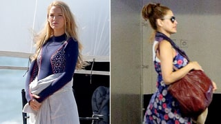 Celebrity Pregnancies: Hilariously Obvious Ways Blake Lively, Eva Mendes and Others Hide Their Baby Bumps