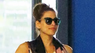 Pregnant Eva Mendes Hides Growing Baby Bump While Out With Ryan Gosling: Photos