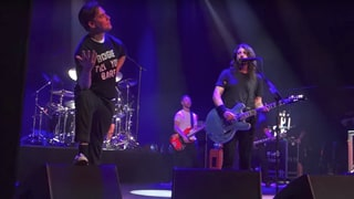 Watch Foo Fighters Cover AC/DC With Hives Singer in Sweden