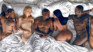 Jimmy Kimmel, Stephen Colbert Poke Fun at Kanye West's NSFW 'Famous' Video in New Parodies