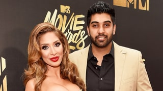 Farrah Abraham Gets Affectionate With Ex Simon Saran at MTV Movie Awards 2016, Insists They're 'Just Friends'