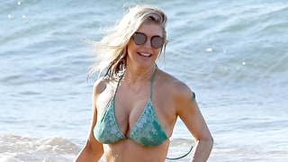 Fergie Shows Off Killer Bikini Body on the Beach With Josh Duhamel: Photos