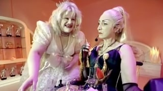 Flashback: Madonna, Courtney Love Impersonators Remake 'Baby Jane'