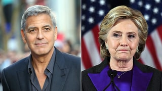 George Clooney on Hillary Clinton's Loss: 'I Never Saw Her Elevate Her Game'