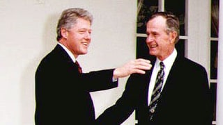 Read the Letter George H.W. Bush Wrote Bill Clinton When He Lost the 1992 Election: 'I'm Rooting Hard for You'