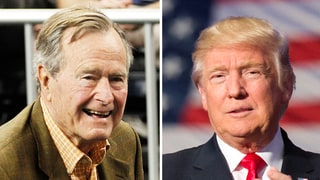 George H.W. Bush Writes Note Apologizing To Donald Trump For Missing the Inauguration: 'It Likely Will Put Me Six Feet Under'