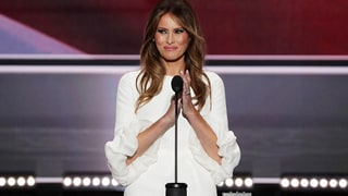Melania Trump Is Accused of Plagiarizing Michelle Obama's 2008 Democratic National Convention Speech
