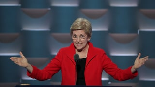 Watch Elizabeth Warren's Feisty Anti-Trump DNC Speech