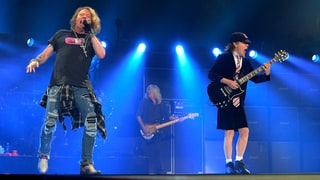 Watch AC/DC Dust Off 'Live Wire' With Axl Rose in Greensboro