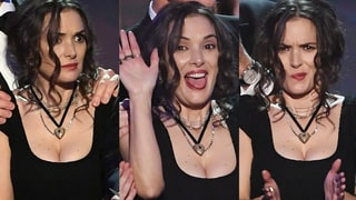 Winona Ryder's SAG Awards Faces and More Insane Celeb Moments Caught on Camera