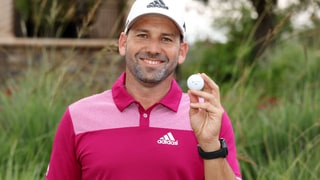 Let's Watch Sergio Garcia Ace One of the Most Famous Holes in Golf