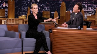 See Katy Perry Address 'Swish Swish' Taylor Swift Rumors on 'Fallon'