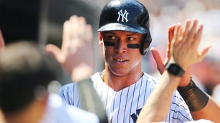 New York Yankees Rookie Sensation Aaron Judge Smashes Record Home Run