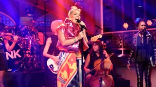 Watch Pink Return to 'SNL' With 'Beautiful Trauma' Songs
