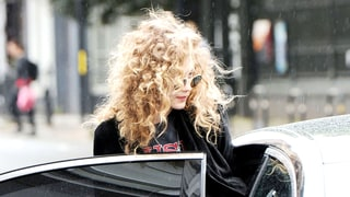 Gigi Hadid Looks Unrecognizable With Wild '80s Curls