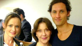 Alexis Bledel, Kelly Bishop Reunite on the 'Gilmore Girls' Set: Photo