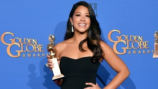 High School Student Finally Wears Gina Rodriguez's Golden Globes Dress to Prom
