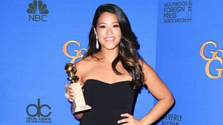 Gina Rodriguez Keeps Her Word, Sends 2015 Golden Globe Dress to a Fan for Prom