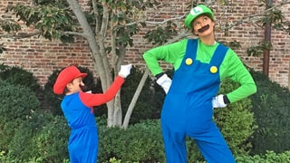 Benjamin Brady and Gisele Bündchen, Mario and Luigi