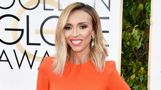 Golden Globes 2016: Giuliana Rancic Flashes Abs in Cutout Gown on Red Carpet: Photos