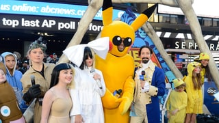 'Good Morning America' Halloween Costumes 2016: Michael Strahan as Pikachu, Lara Spencer as Lin-Manuel Miranda and More!