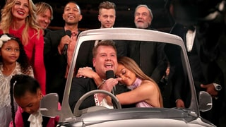 Grammys 2017: James Corden Recruits J.Lo, Neil Diamond, John Legend, Blue Ivy and More for Feel-Good 'Carpool Karaoke' Bit